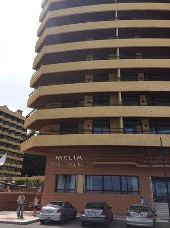 Melia Costa del Sol: front of hotel