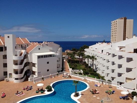 Paloma Beach Apartments: view from our penthouse balcony