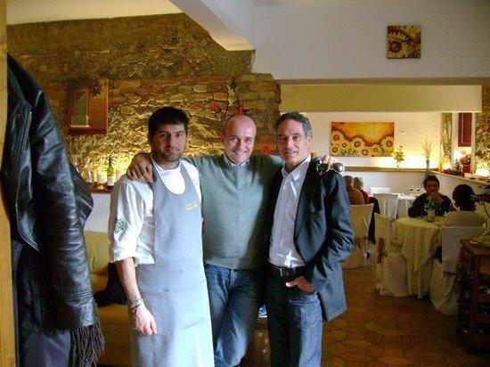 Alfonso signorini con mario gregoraci il pap di elisabetta foto di la tavola di melusinda - La tavola di melusinda ...