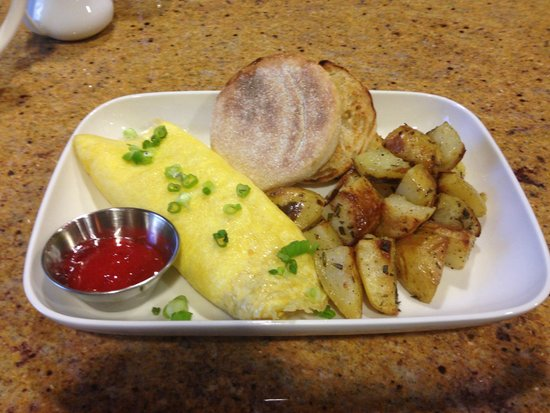 Wyoming Inn of Jackson Hole : Breakfast omlet
