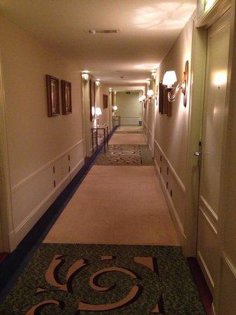 Hotel Dukes' Palace Bruges: Corridoio