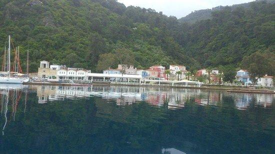 Club Adakoy Resort Hotel : tekneden gorunus