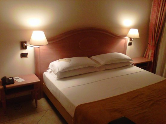 Palace Hotel: letto