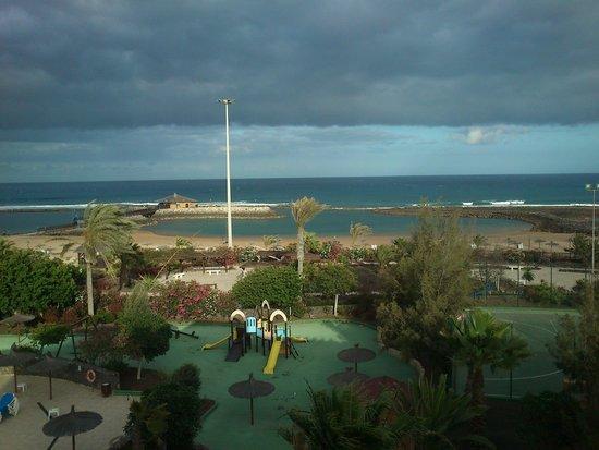 Hotel Elba Carlota : vistas de la habitacion cuarta planta