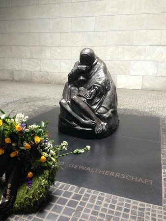 Original Berlin Walks: Mother and Child Monument inside the Guardhouse