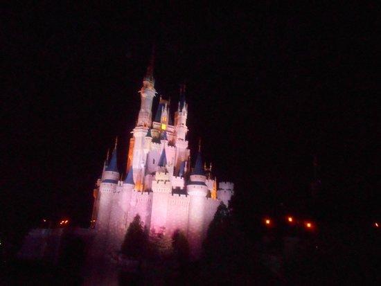 Wishes Fireworks: Castelo já preparado