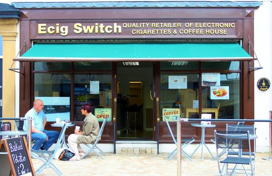Ecig Switch: Cosy place to relax, Vape and refresh