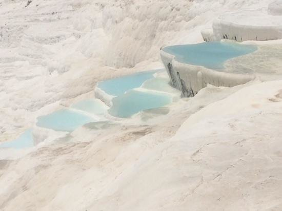 Pamukkale Thermal Pools : Pamukkale pools