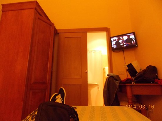 Milani Hotel : amplio placard
