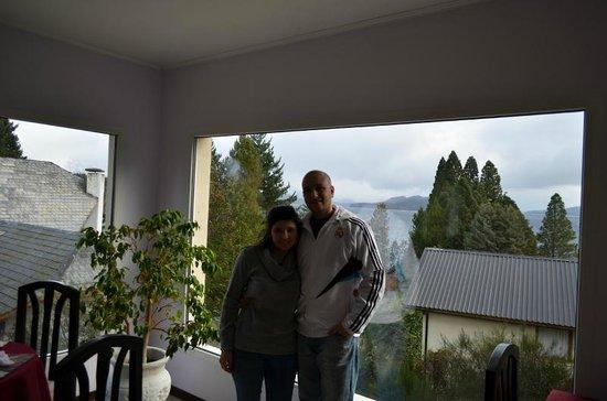 Altuen Hotel Suites&Spa: vista desde el comedor