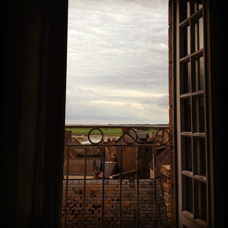 La Vieille Auberge: View from my bed