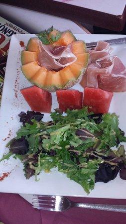 Restaurant le Marius : Salade du jour extra!!