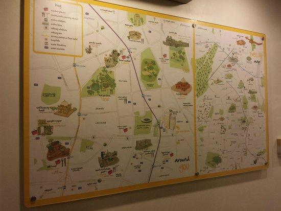 bloomrooms @ Link Rd: mapa mostrando o entorno do hotel