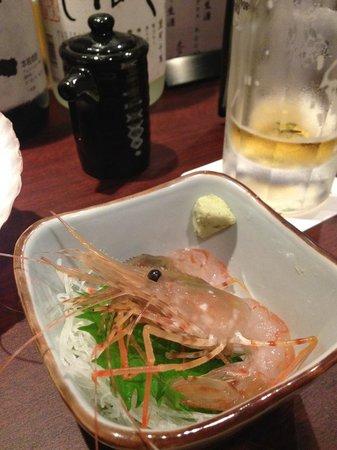 Nemuro Hamaichiban: ボタンエビ(まだ生きていました)
