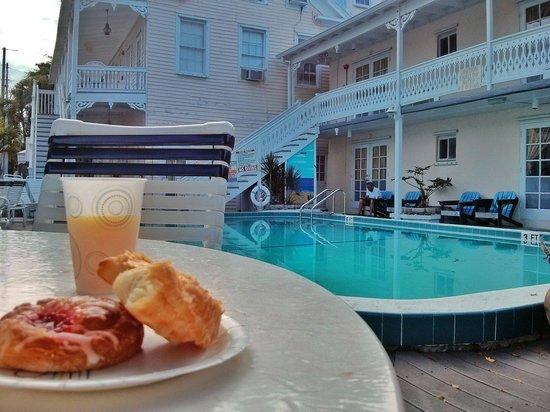 The Palms Hotel- Key West: Breakfast