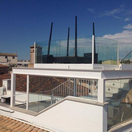 Puro Hotel: Dachterrasse