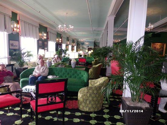 Grand Hotel: the main lobby