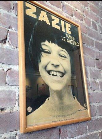 Wall at Zazie :)