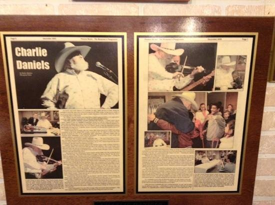 Bread of Life Cafe: A Charlie Daniels favorite !