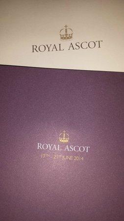 Ascot Racecourse: Invitation