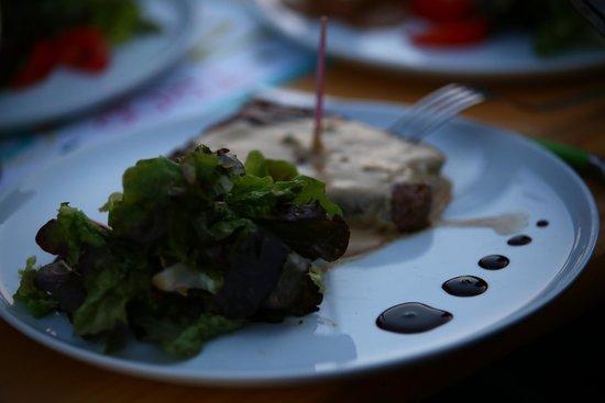 Snack de Bouvent : Les plats
