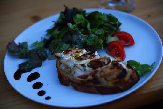 Snack de Bouvent : Petite tartine