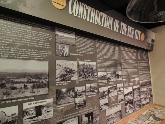 American Museum of Science & Energy : secret city history