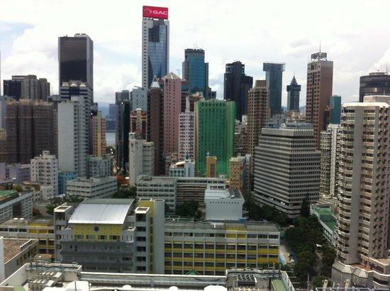 Dorsett Wanchai, Hong Kong : View from the room