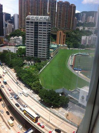 Dorsett Wanchai, Hong Kong: View of the Jockey club