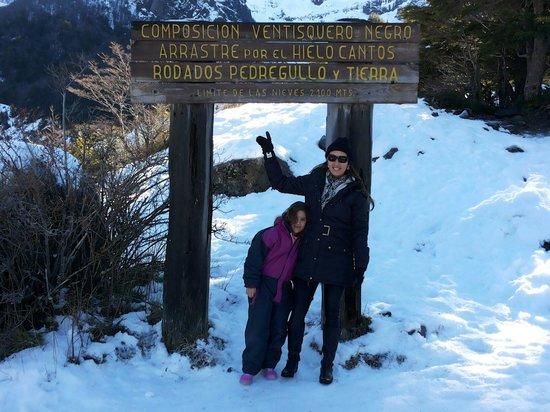 Cerro Tronador: Vetisquero negro