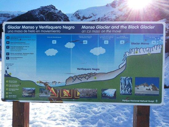 Cerro Tronador: Mapa