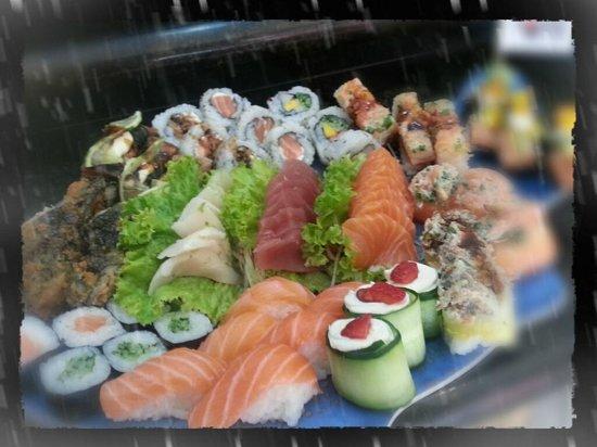 Konan Sushi: Amei!!!