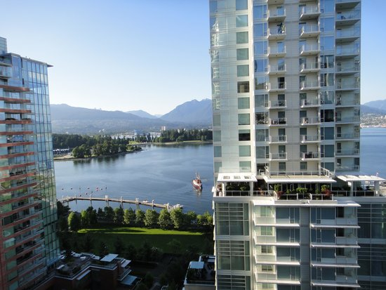 The Pinnacle Hotel Harbourfront: Blick aus dem Hotelfenster