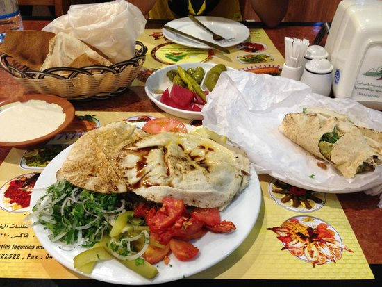 Lebanese Village Grill and Restaurant : A great meal with a good balance of meat and vegetables.