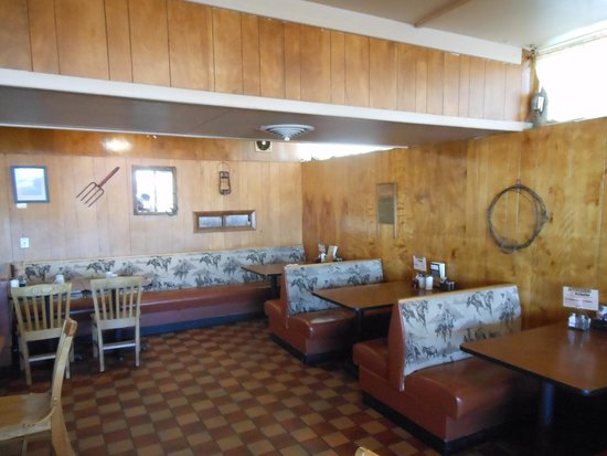 Dining area Picture of Broken Wheel Truck Stop Douglas