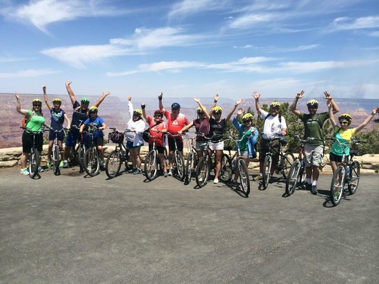 Bright Angel Bike Rentals and Tours: Group Tour