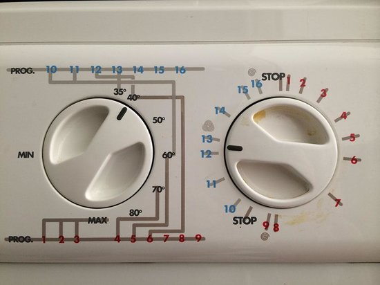 Apartment Konvikt: Clothes washer - tricky. What to do?
