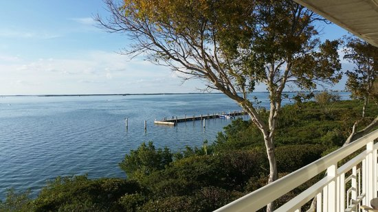 Hilton Key Largo Resort: view from the suite balcony