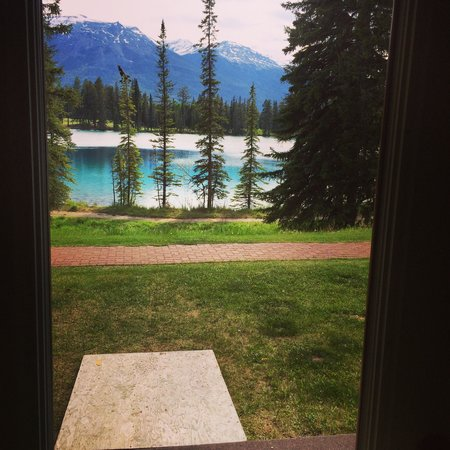 Fairmont Jasper Park Lodge: view from room