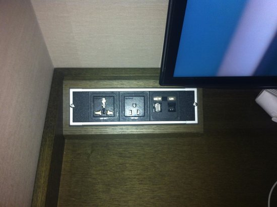 Hotel Manu Seoul: International sockets