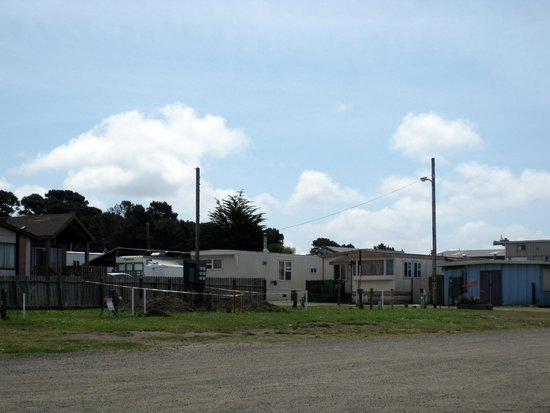 Harbor RV Park: Mobile Home section - Harbor RV