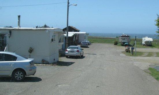 Harbor RV Park: Driveway to park - Harbor RV