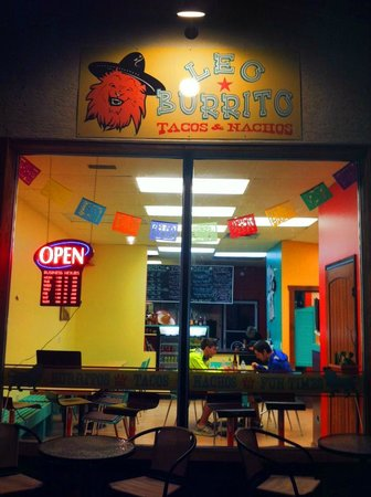 Leo Burrito: Open til Midnight every day from June 27 - Aug 31!!