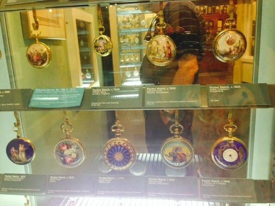 National Watch and Clock Museum : Lovely European Enameled Pocket Watches