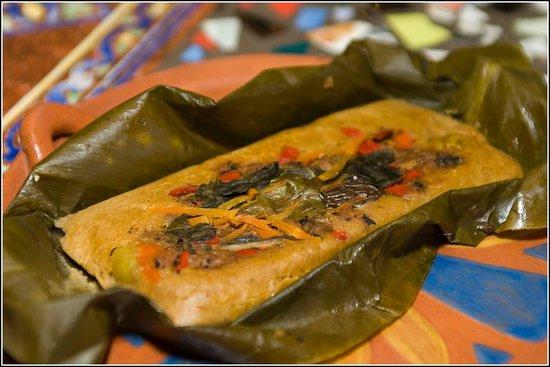 Sativa Studio Cafe: vegan tamales