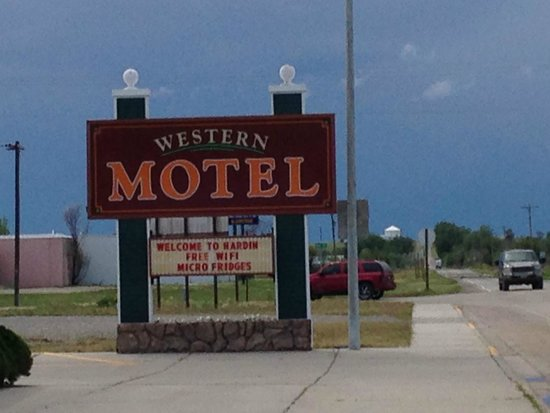 The Western Motel In Hardin Mt