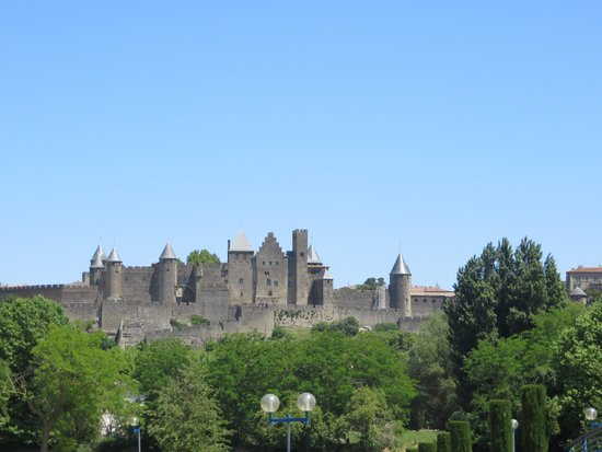Carcassonne Guesthouse : View from the B&B
