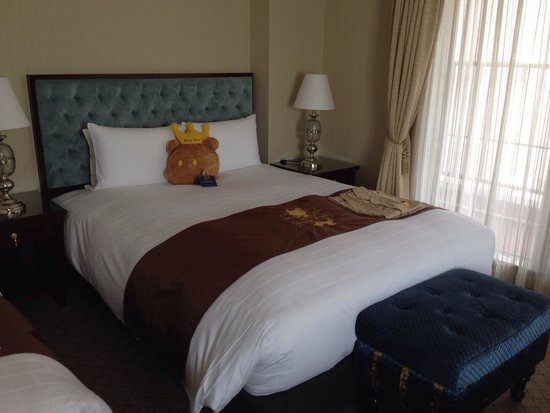 Hotel Konigs-Krone Kobe: クマさんなお出迎え。