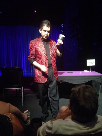 Armando Vera Magic Show: Great for all ages! Yes, he's THAT close!