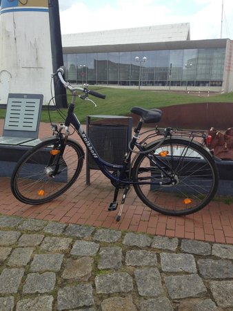 Atlantic Hotel Sail City: bike rented from front desk